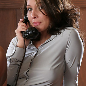 Gina Hard Nipples Secretary