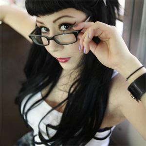 Cute Goth Schoolgirl