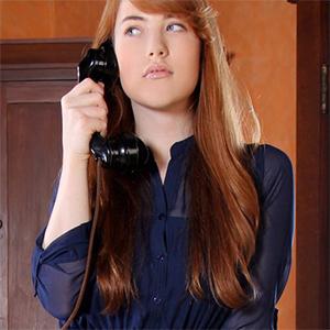 Gwen Sexy Redhead Office Fantasy