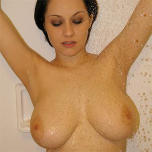 Hailie Busty Shower