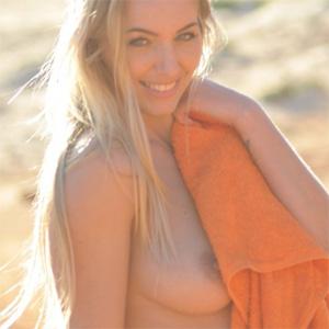 Hayley Marie Nude Beach Romp