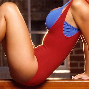 Heather Rene Smith Playmate Exercising
