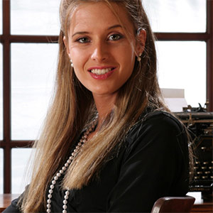 Hope Black Dress Office Fantasy