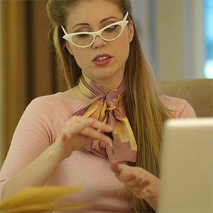 Ingrid The Secretary Girlfolio