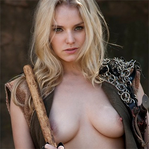 Izlee Chain Mail and Spikes Nudes