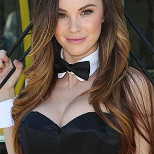 Jayde Nicole Perky Brunette Playmate