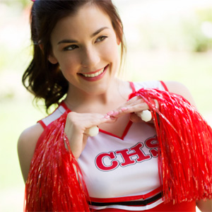 Jenna Reid Cute Cheerleader