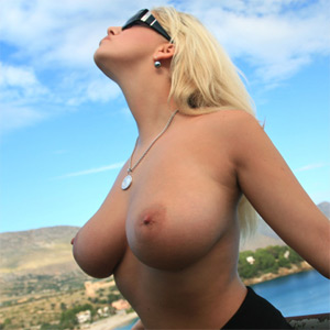 Jenny Boobs By The Beach