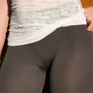 Jeny Smith Sexy Leggings In Public