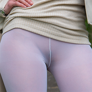 Jeny Smith Naughty In Sheer Leggings