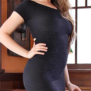 Jessi Tight Black Dress Office Fantasy