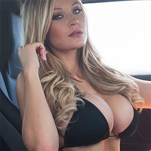 Kari Nautique Busty Playboy Beauty