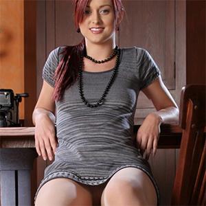 Karlie Montana Frisky Office Stripping