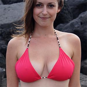 Karly Topless Bikini Girls Flaunts It