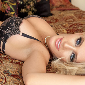 Katie Calloway Blonde Bombshell for Playboy