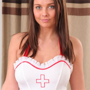 Kay Naughty Nurse Only Tease