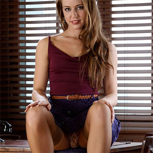 Keira Kelly Stockings Office Fantasy