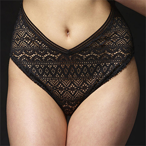 Kloe Black Lace Panties