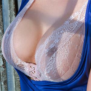 Krissy Lynn Sheer Lingerie By The Window