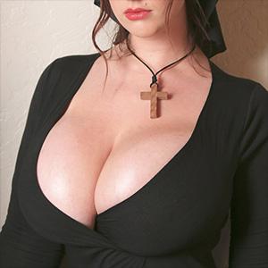 Lana Kendrick Plays The Busty Nun