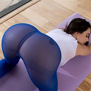 Lana Rhoades Exercise and Booty