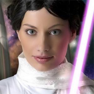 Leia Sexy Jedi Cosplay