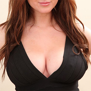 Libby Smith Black Dress Cleavage