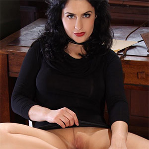 Lilly Black Dress Office Fantasy