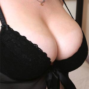 Louisa May Black Babydoll Boobs