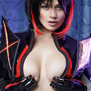 Lucia Love Kill La Kill XXX Cosplay pics
