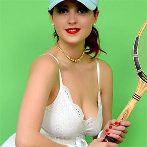 Lucy Vixen Tennis Lesson