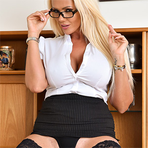 Lucy Zara Naughty Deans Office
