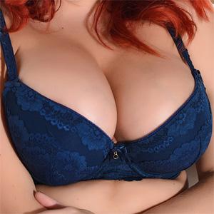 Lucy Vixen Deep Blue Lingerie