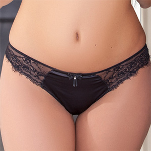 Luna Sauvage Satin Panties
