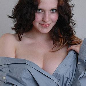 Maja Busty and Pretty German Model