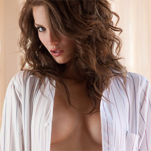 Malena Morgan Striped Shirt