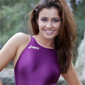 Maria Purple Swimsuit Heaven