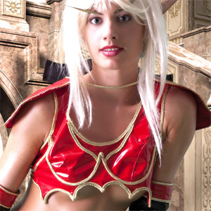 Marilyn Blood Elf Cosplay Erotica