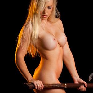Melhoney The Barbarian Nude Muse