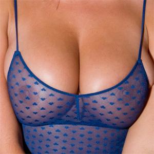 Melissa Debling Blue Bodysuit