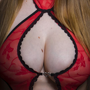Melony Is The Life Erotic In Red Lingerie