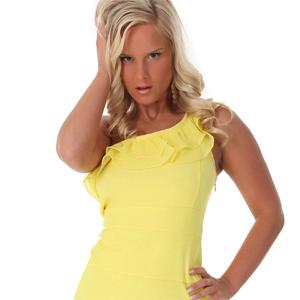 Miela Yellow Dress