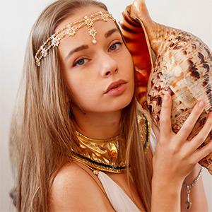 Milena Angel Greek Goddess