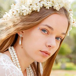 Milena Angel Lace Dress Goddess