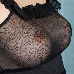Mimi See Thru Perky Tits