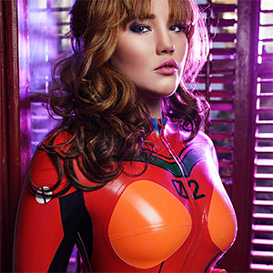 Misha Mayfair Evangelion XXX Cosplay