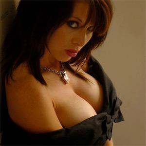 Myla Busty In Black