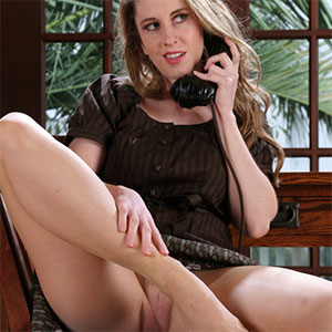 Natali Demore Stockings Office Fantasy