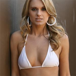 Nicole Cream Bikini