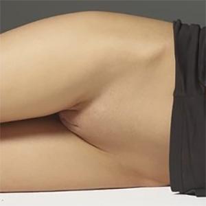 Nicolette Bottomless Brunette